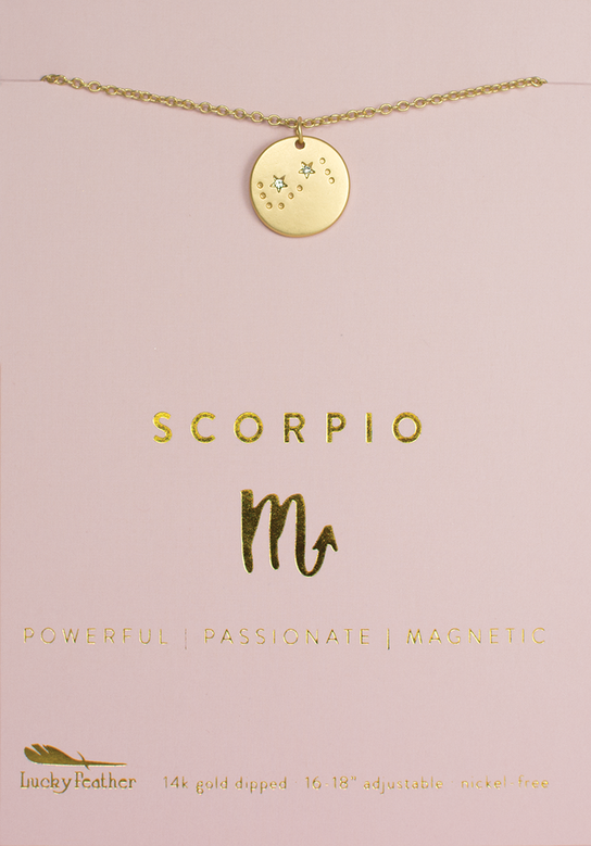 Necklace | Zodiac | Scorpio