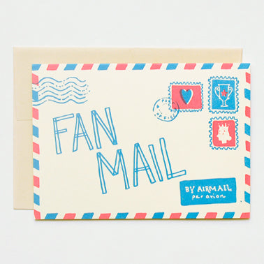 Cards | Note Cards | Fan Mail | Set of 6
