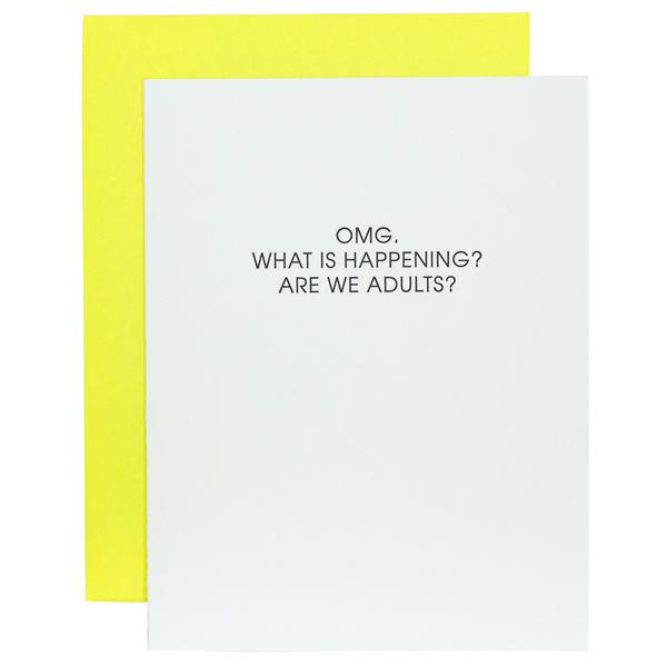 Card | Birthday | OMG Are We Adults