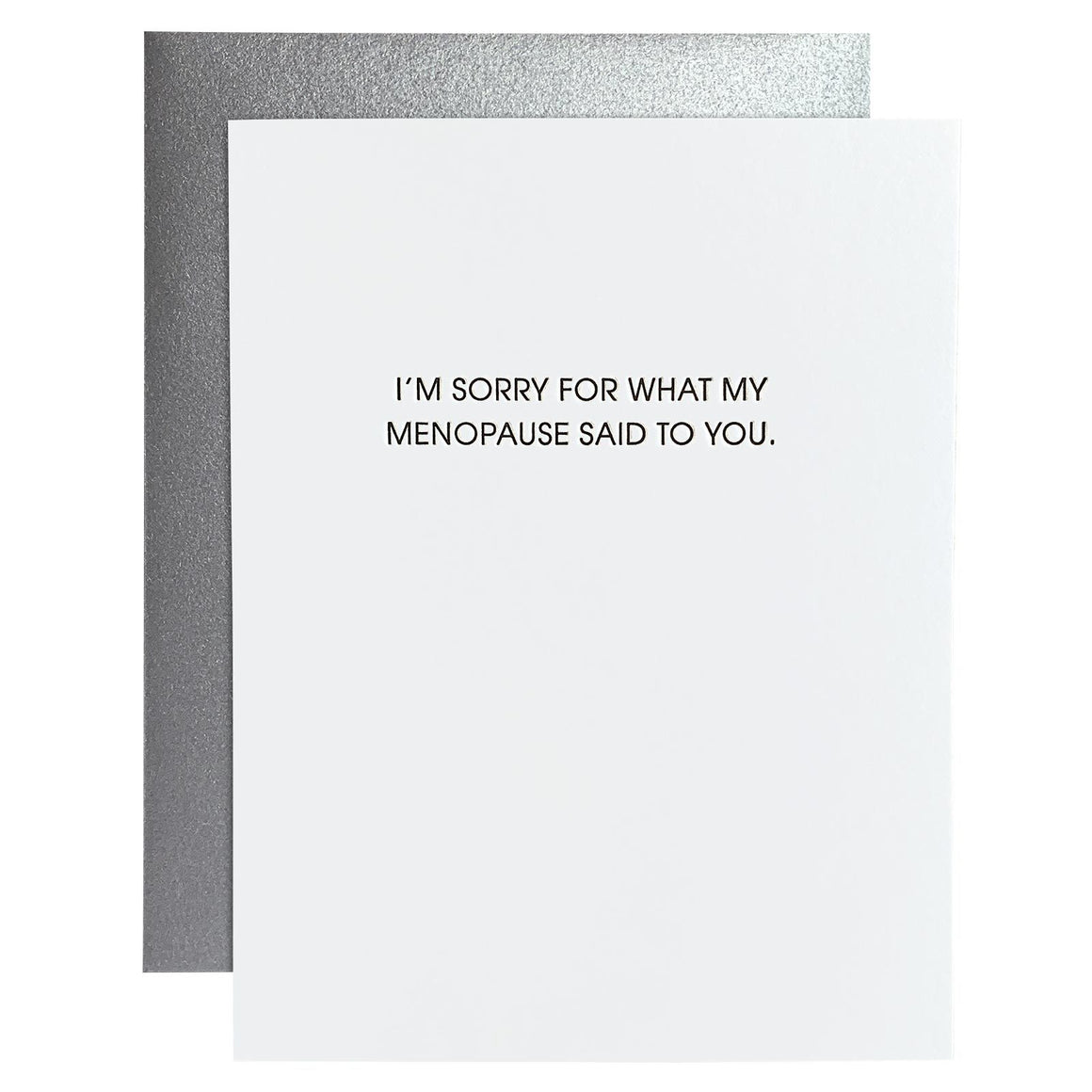 Card | Apology | My Menopause Said