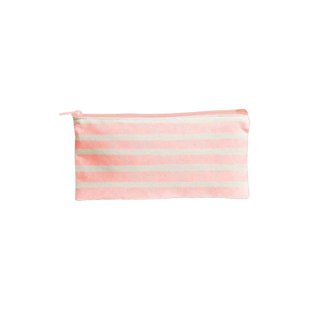 Pouch | All The Things | Peach Stripes
