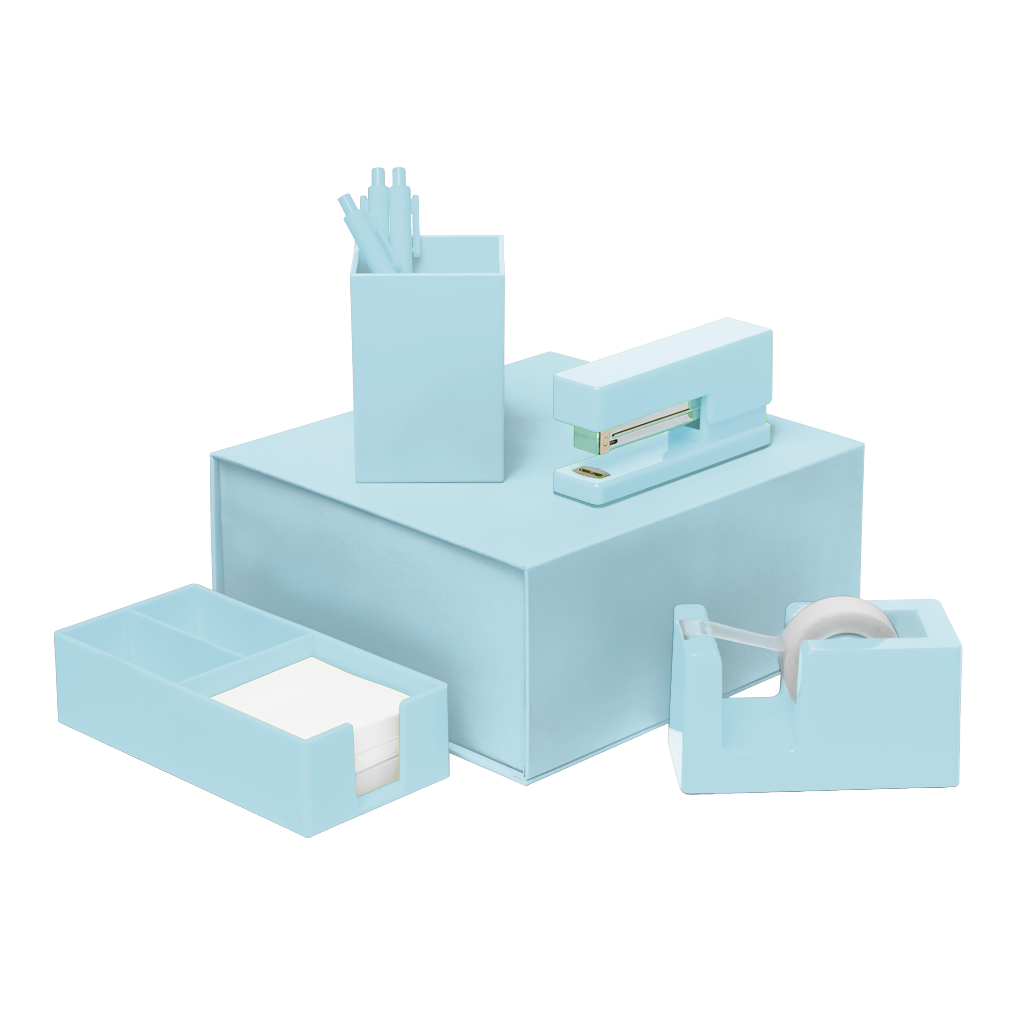 Desk Set | Powder Blue