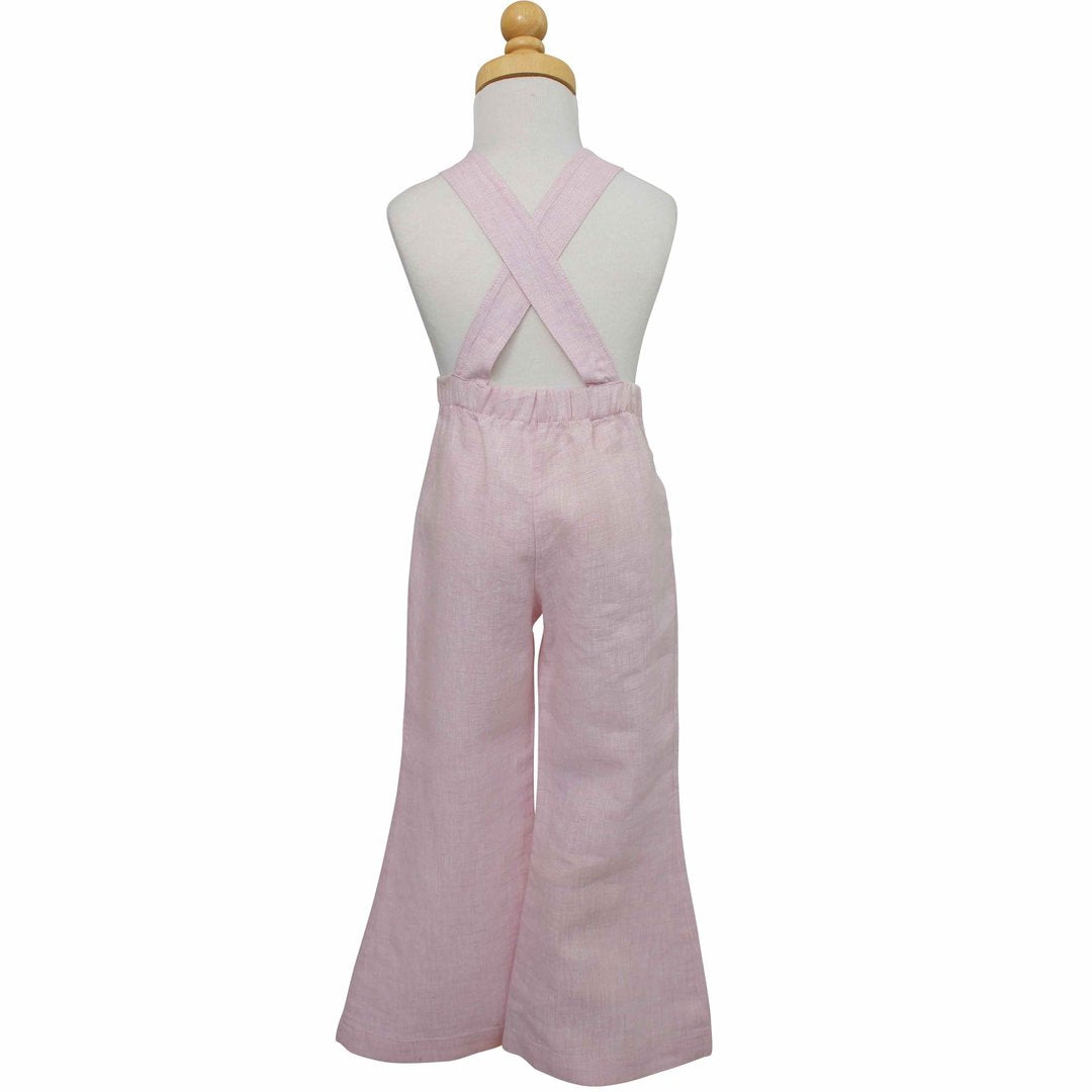 Heart Overall | Powder Pink
