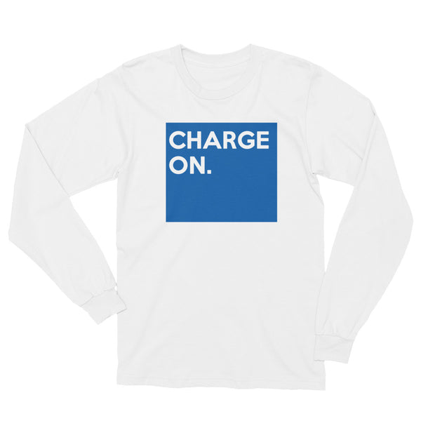 Charge On Longsleeve Tee - RocketCitees.com