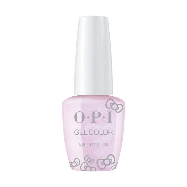 OPI, Hello Kitty GelColor A Hush of Blush,  0.5 fl oz