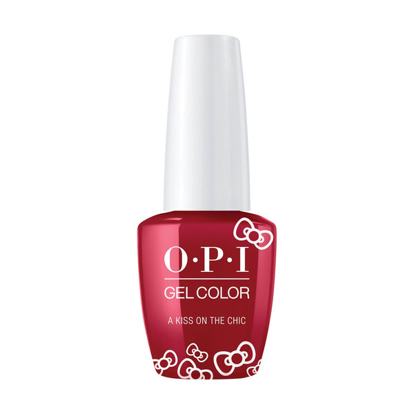 OPI, Hello Kitty GelColorA Kiss on the Chìc,  0.5 fl oz
