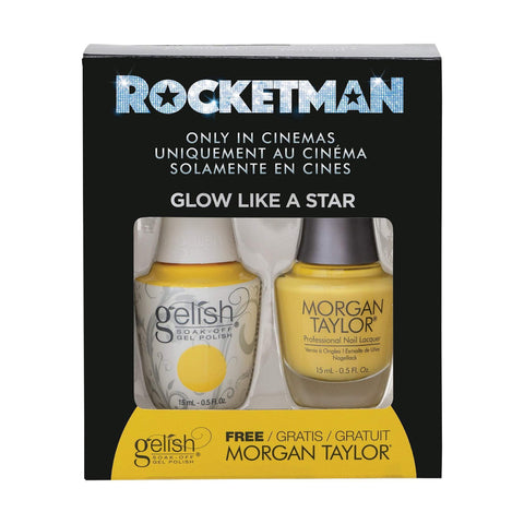 Gelish/Morgan Taylor Tickle My Keys Toak, .5 oz ea
