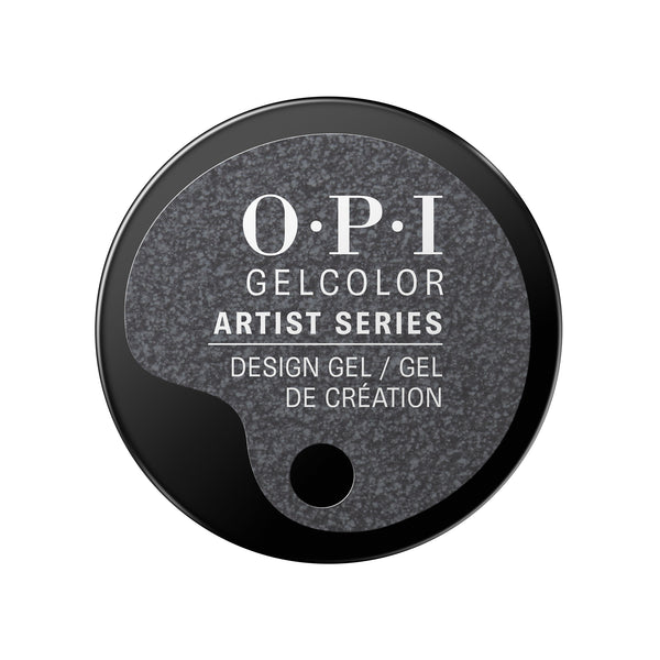 OPI Artist Series The Grey Is Totally Coal! GelColor