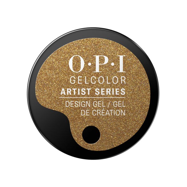 OPI Artist Series You Gotta Gold On Me GelColor