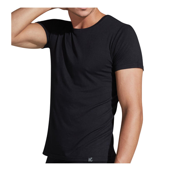 Apparel Black / Small Boody Wear Men's Crew Neck T-Shirt