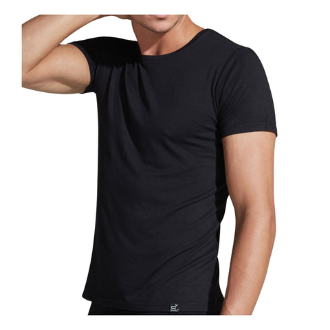 Image of Apparel Black / Small Boody Wear Men's Crew Neck T-Shirt
