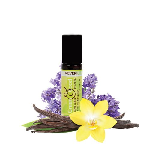 Aromatherapy Reverie / Lavender & Vanilla Blend Eco-fin Aroma-Rollie