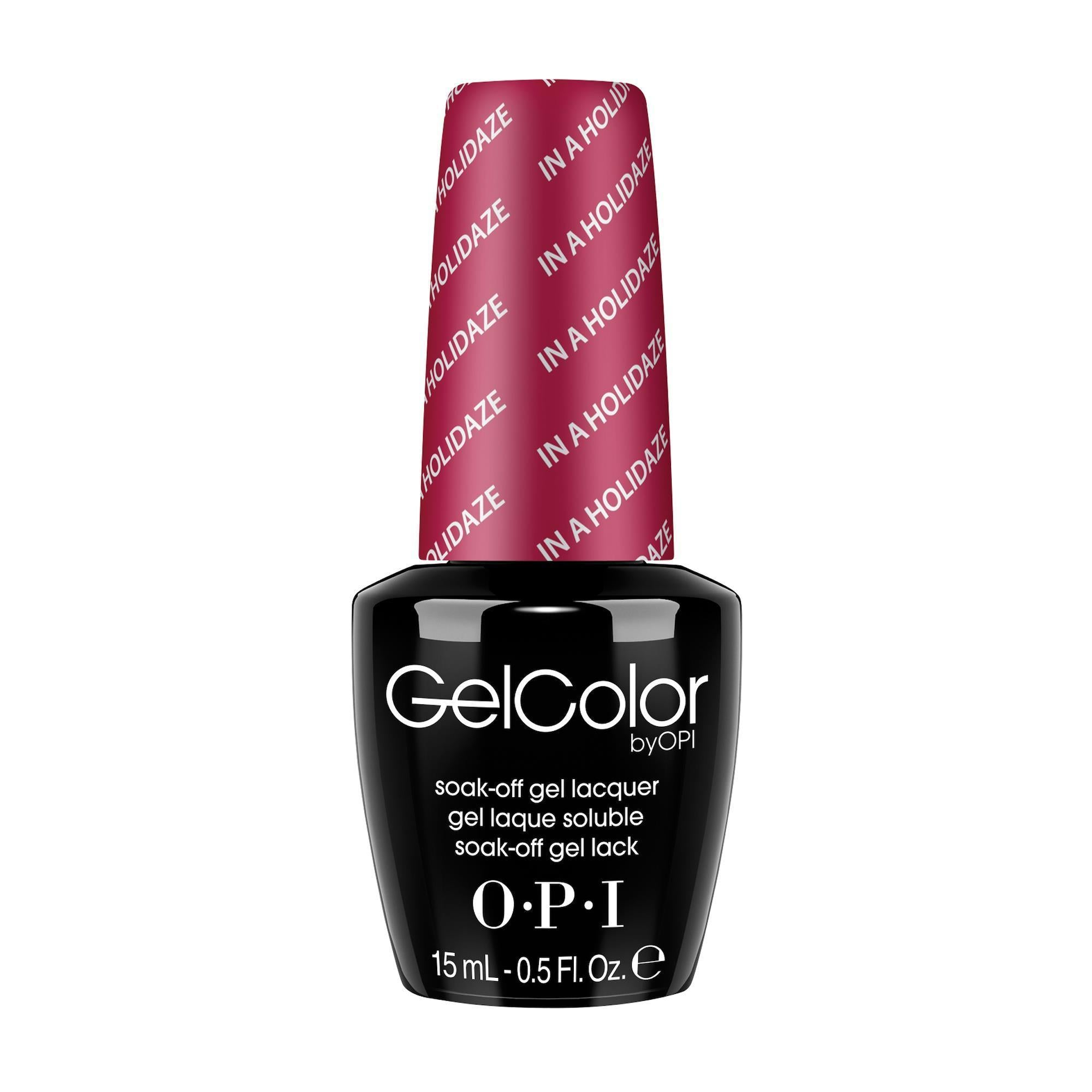 Gel Lacquer OPI In a Holidaze / GelColor