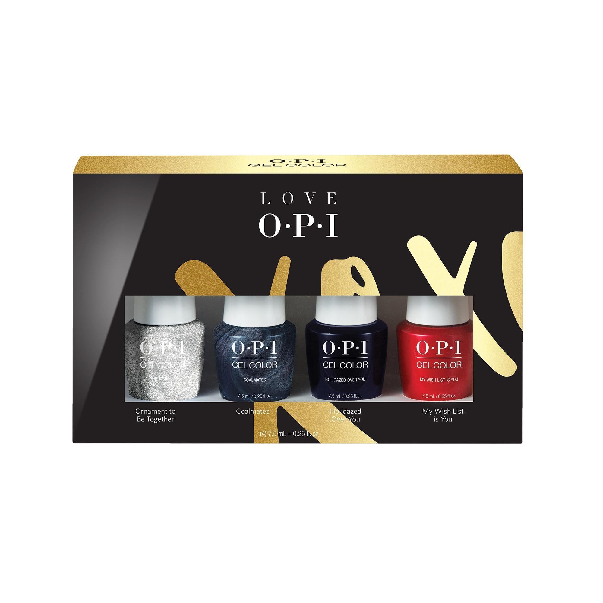 Gel Lacquer OPI Gel Color 7.5 ml 4 pack