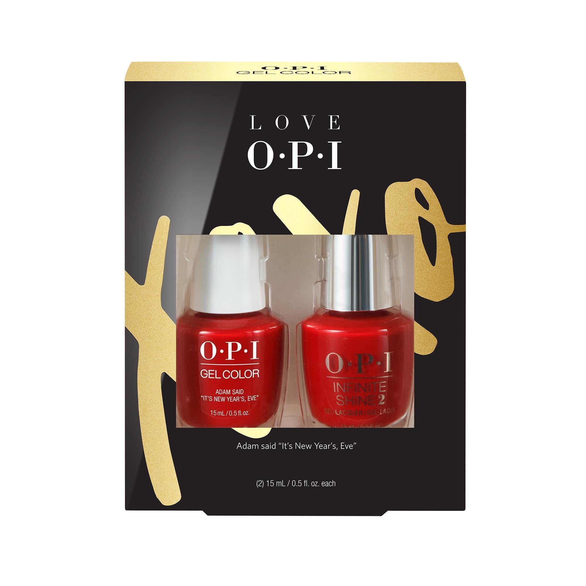 Gel Lacquer OPI Gel Color & Infinite Shine Duo Pack # 1