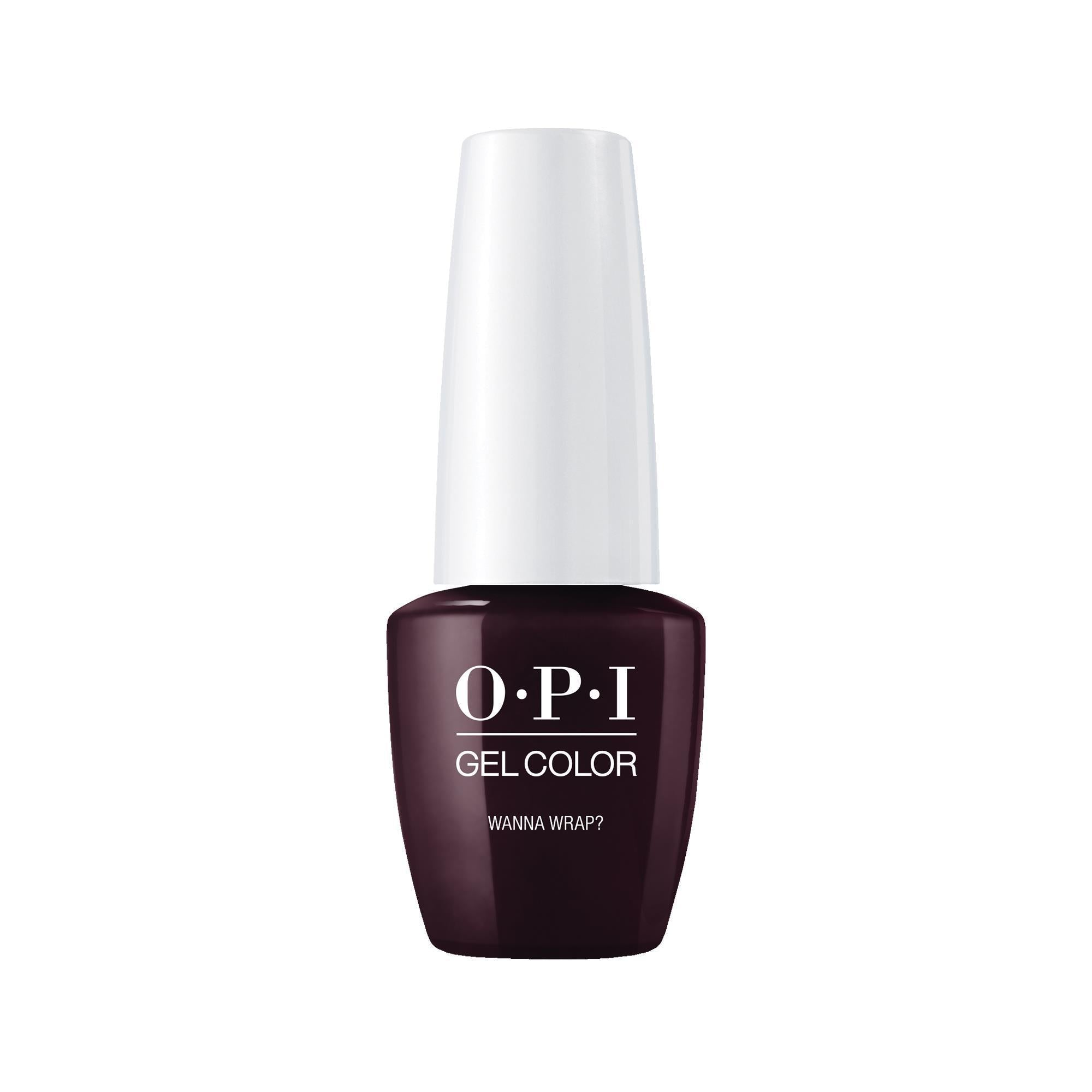 Gel Lacquer OPI Gel Color Wanna Wrap?