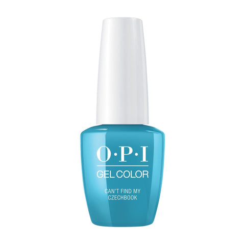 Gel Lacquer OPI Can't Find My Czechbook Pastel GelColor