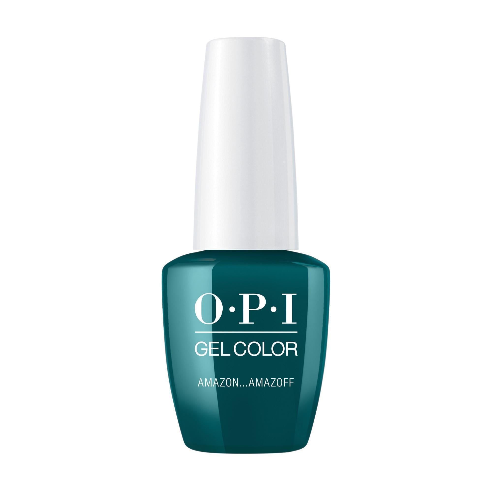 Gel Lacquer OPI AmazON. . . AmazOFF GelColor