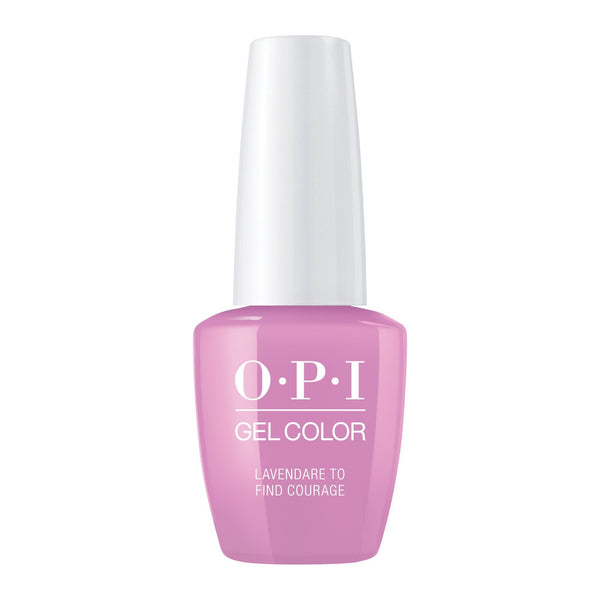 Gel Lacquer OPI Lavendare to Find Courage Gel