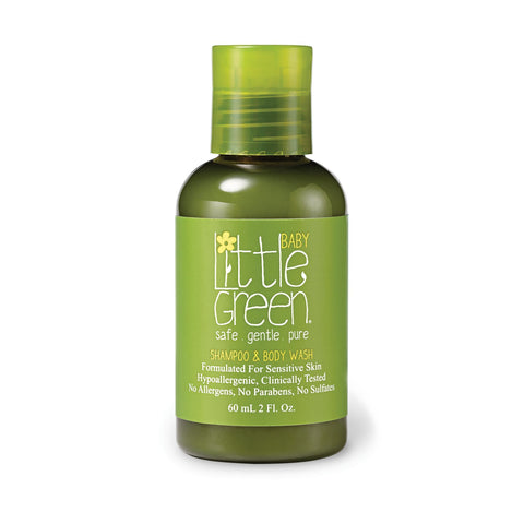 Hair Care & Accessories Little Green Baby Shampoo  and  Body Wash / 2 Fl. Oz.