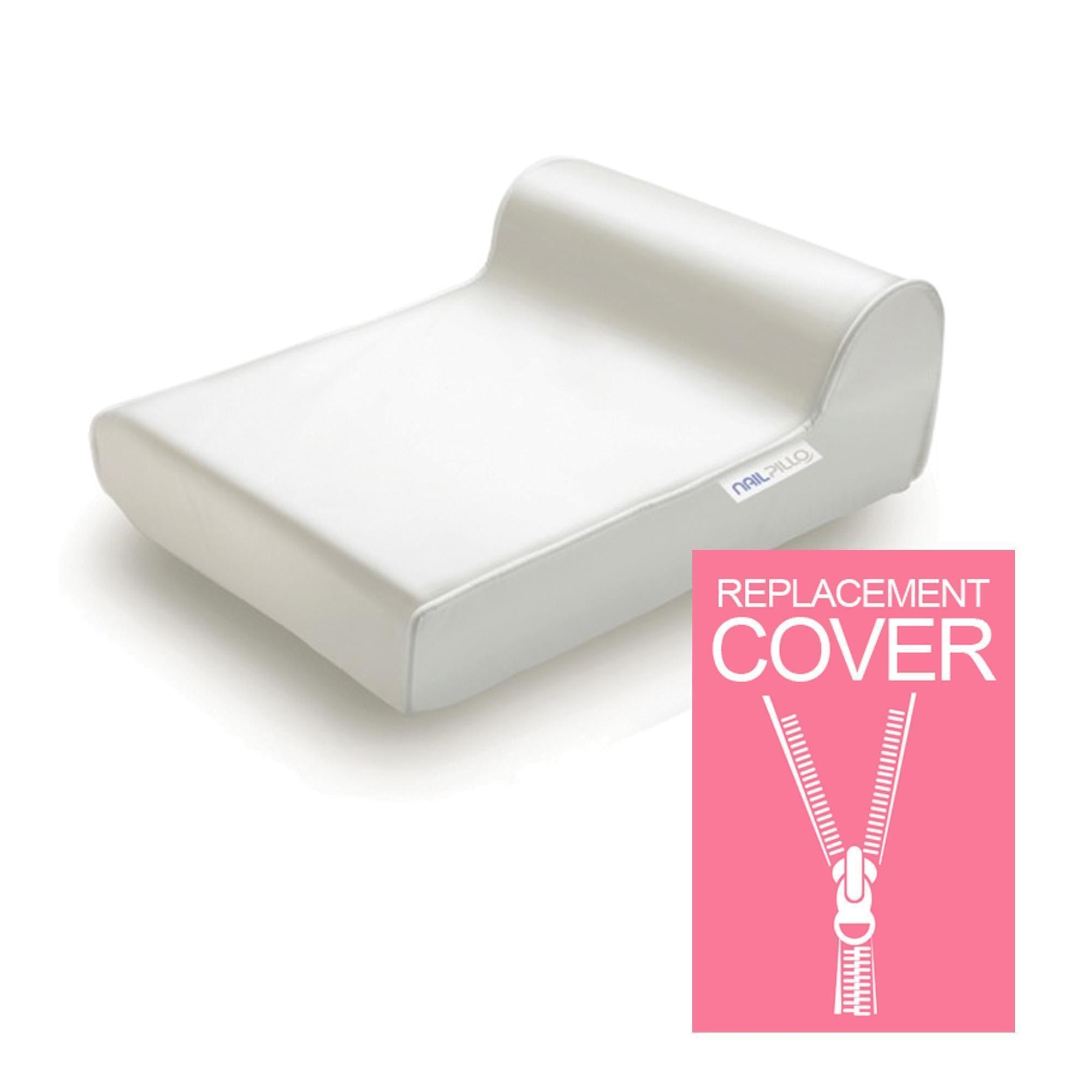 Headrest, Face Cradle & Pillow Ladypillo Replacement Cover / Nailpillo / White