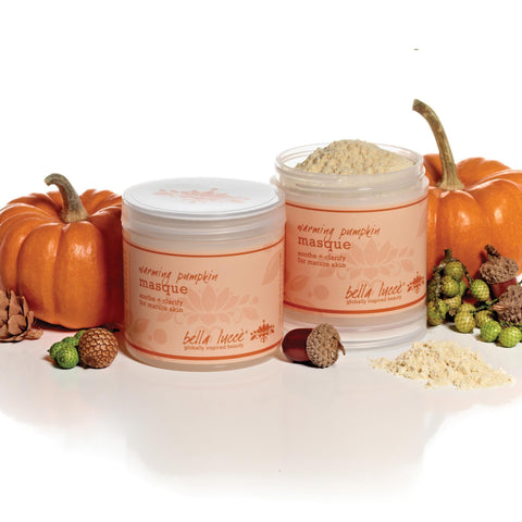 Muds, Masks & Wraps Bella Lucce Warming Pumpkin Masque