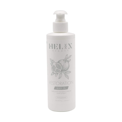 Oils, Bases & Butters Helix Beauty Restoration Pomegranate Body Oil 1,000 mg, 8 oz
