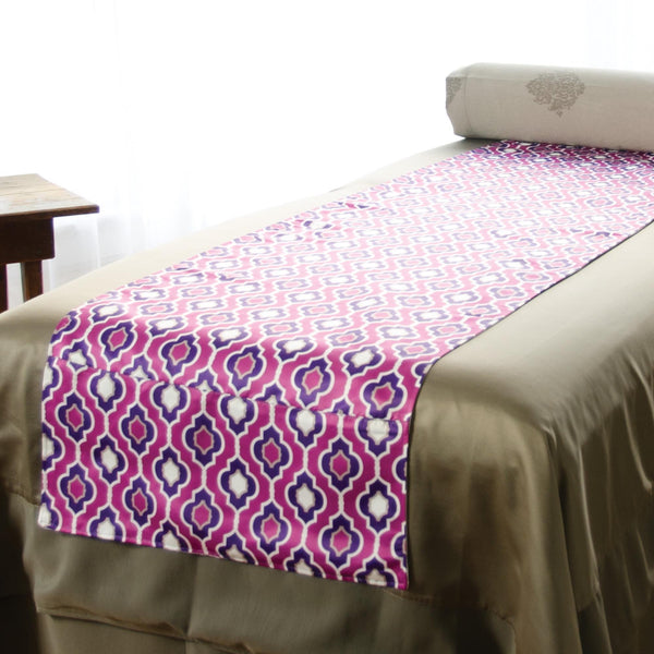 Sheets, Blankets & Accessories Purple Sposh Reversible Saddle / Moroccan / Purple
