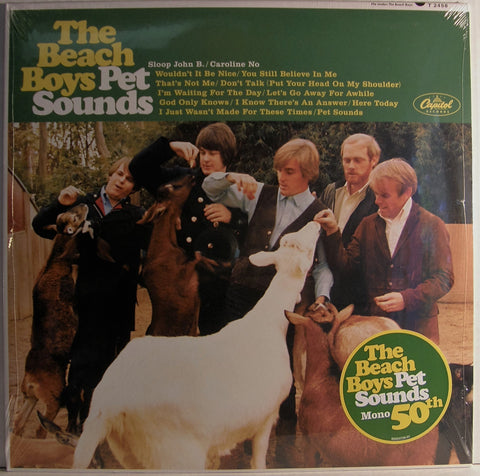 BEACH BOYS PET SOUNDS in MONO