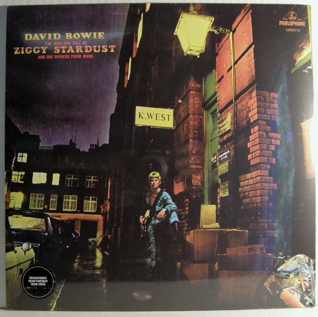 DAVID BOWIE THE RISE AND FALL OF ZIGGY STARDUST AND SPIDERS FROM MARS