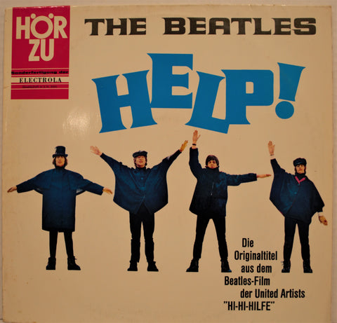 BEATLES HELP ORIGINAL SOUNDTRACK 1ST PRESSING GERMANY