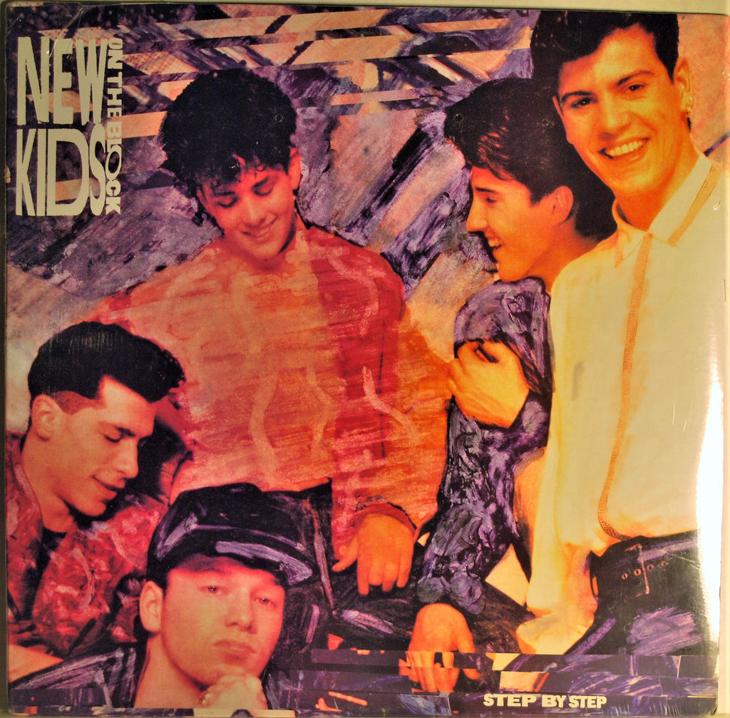 NEW KIDS ON THE BLOCK STEP BY STEP  SEALED