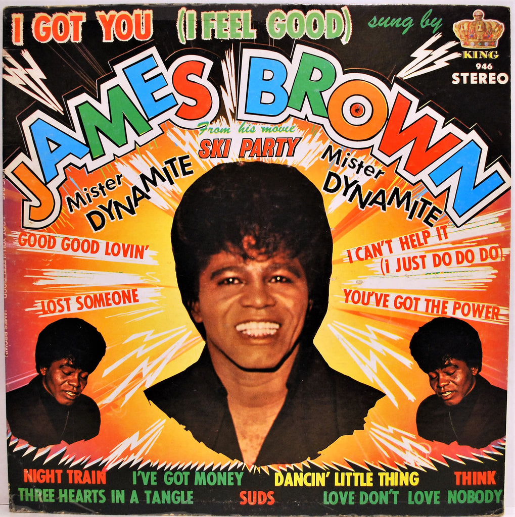 JAMES BROWN   I GOT YOU ( I FEEL GOOD)