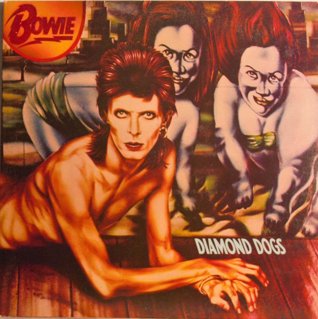 DAVID BOWIE   DIAMOND DOGS  1ST PRESSING