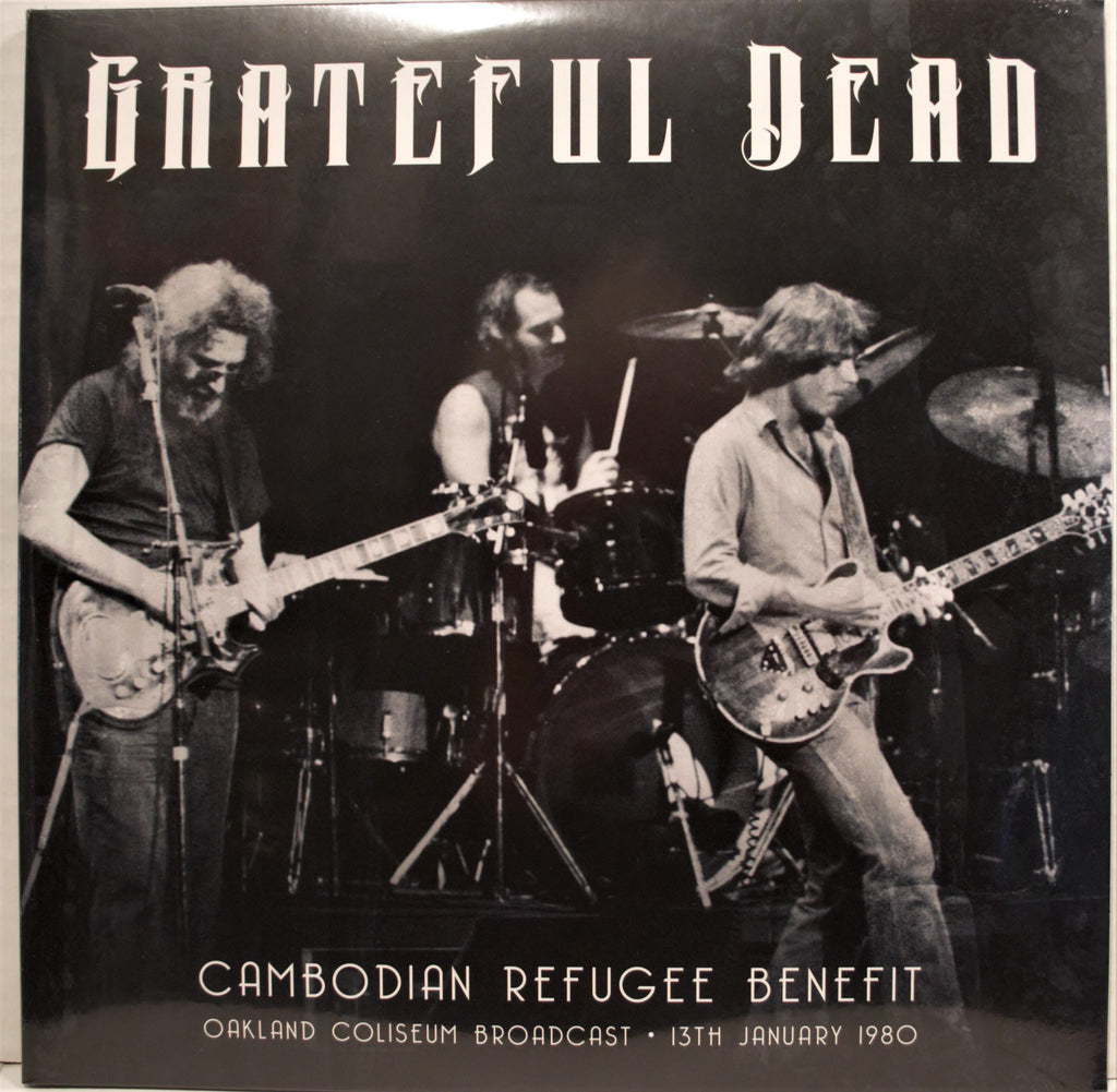 GRATEFUL DEAD CAMBODIAN  REFUGEE BENEFIT OAKLAND COLISEUM