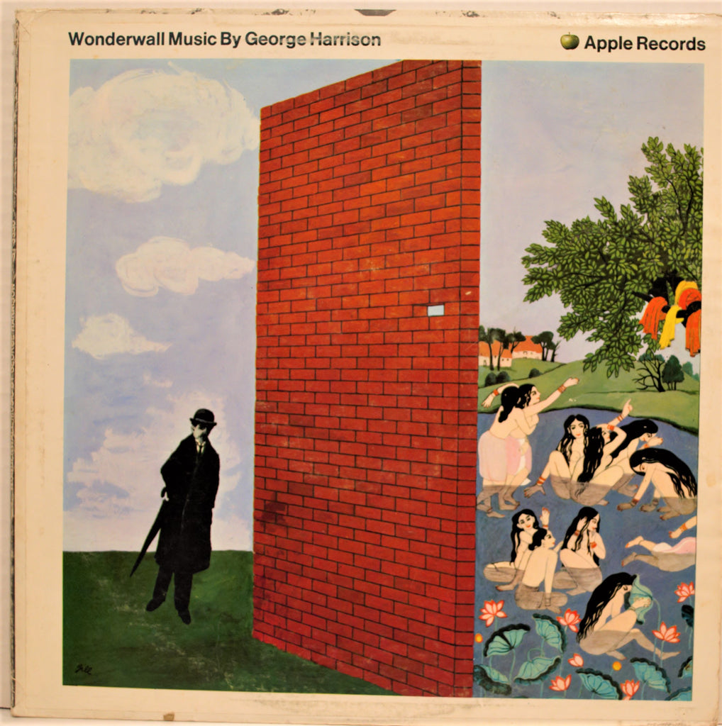 GEORGE HARRISON  WONDERWALL MUSIC 1ST APPLE