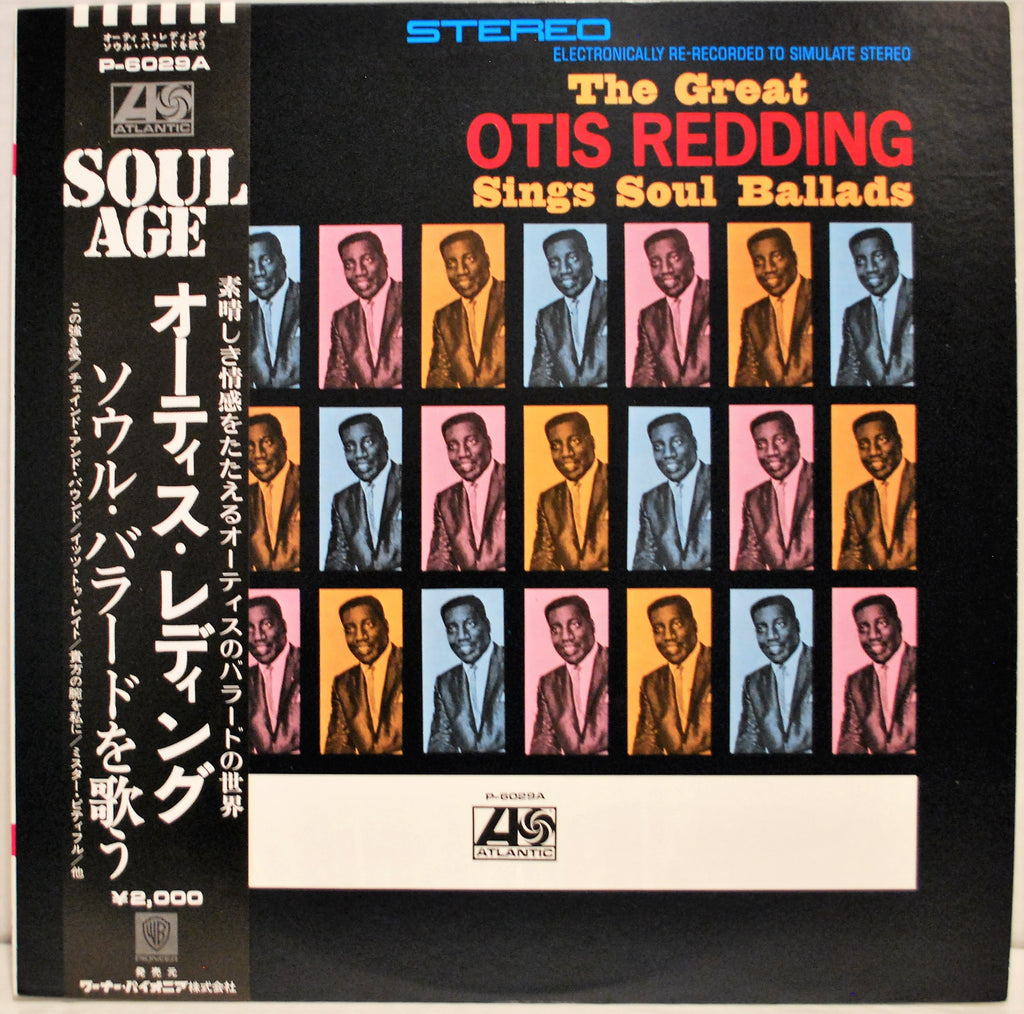 OTIS REDDING SINGS SOUL BALLADS JAPAN