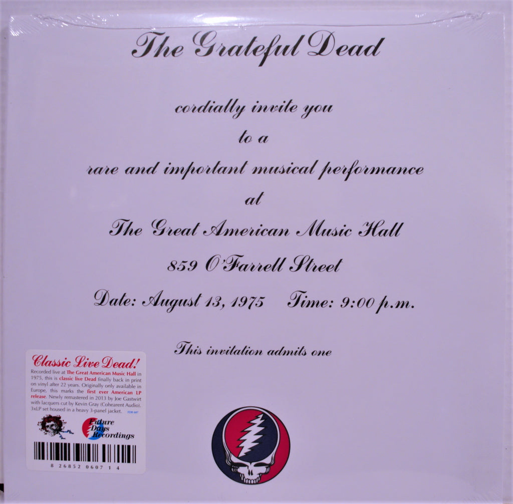 GRATEFUL DEAD  ONE FROM THE VAULT 2013