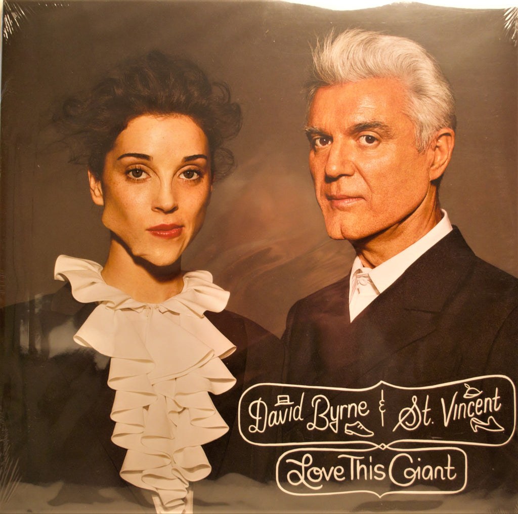 DAVID BYRNE & ST.VINCENT  LOVE THIS GIANT