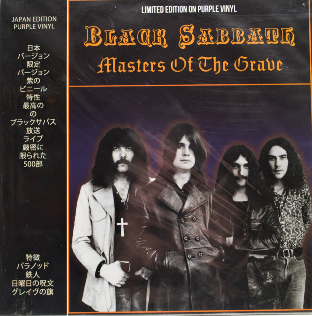 BLACK SABBATH  MASTERS OF THE GRAVE