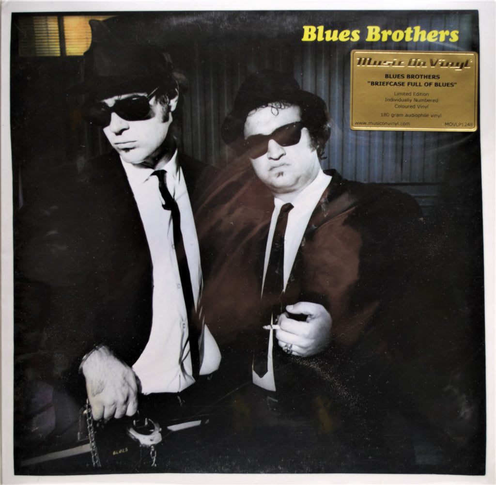 BLUES BROTHERS BRIEF CASE FULL OF BLUES LIMITED EDITION