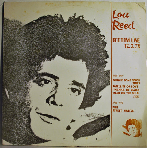 LOU REED BOTTOM LINE 12-3-78