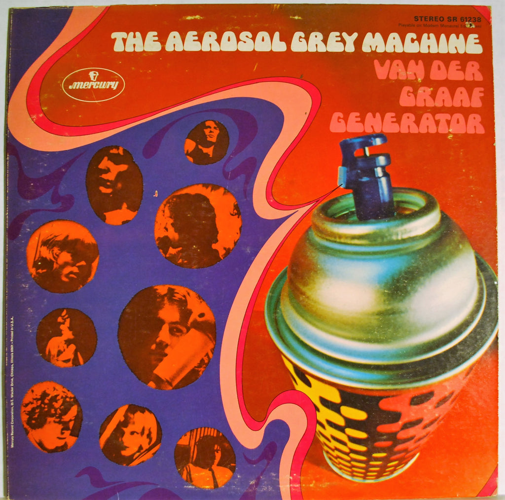 VAN DER GRAAF GENERATOR  THE AEROSOL GREY MACHINE
