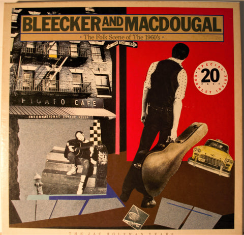BLEECKER AND MACDOUGAL  THE FOLK SCENE IN THE SIXTIES WHITE LABEL PROMO