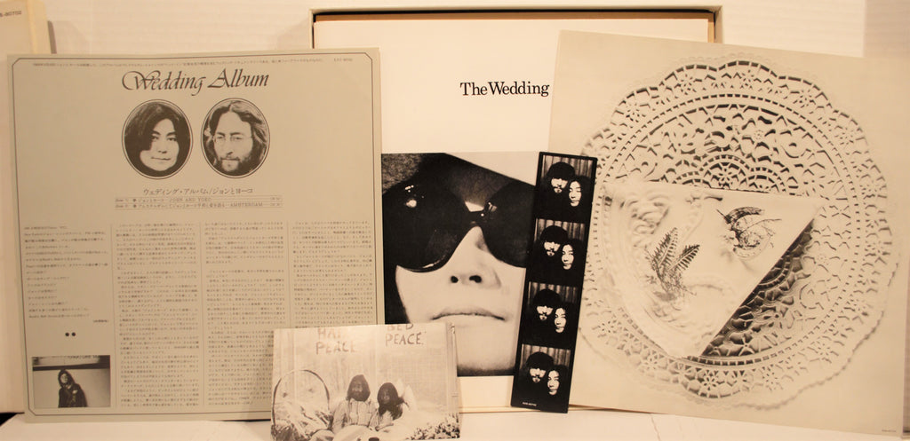 John Lennon Yoko Ono Wedding Album Japan Instant Karma Records