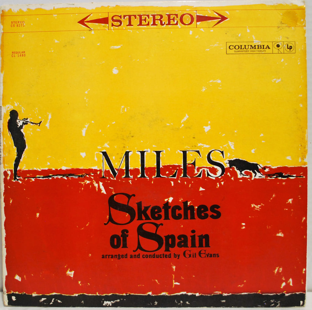 MILES DAVIS SKETCHES OF SPAIN   SIX EYE STEREO