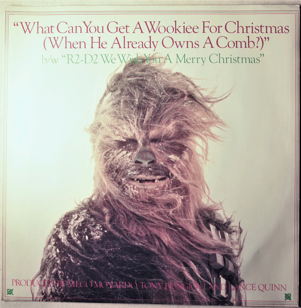 STAR WARS WHAT DO YOU GET A WOOKIE FOR XMAS