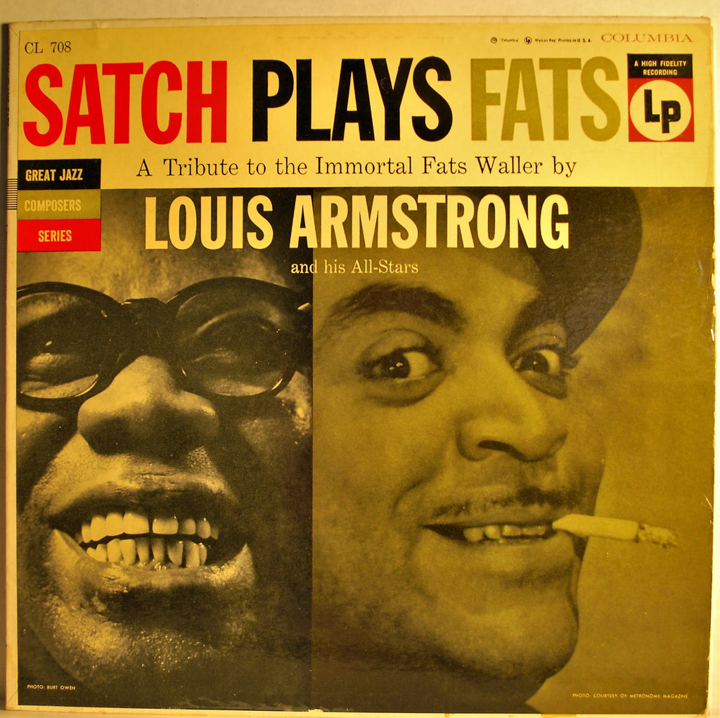 LOIS ARMSTRONG & HIS ALL-STARS  SATCH PLAYS FATS