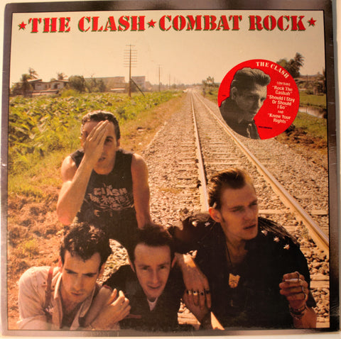 CLASH COMBAT ROCK 1ST PRESS SEALED