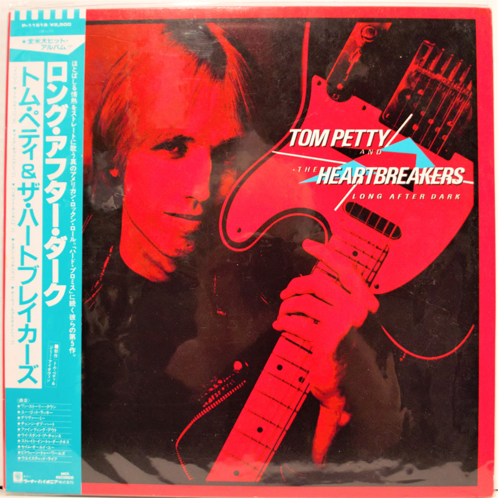 TOM PETTY  LONG AFTER DARK  JAPAN SEALED